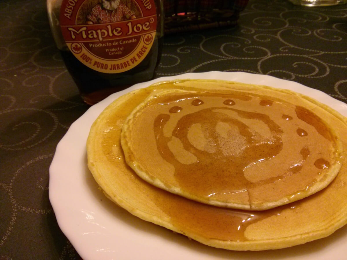 Pancakes O Tortitas Americanas Para Una Persona