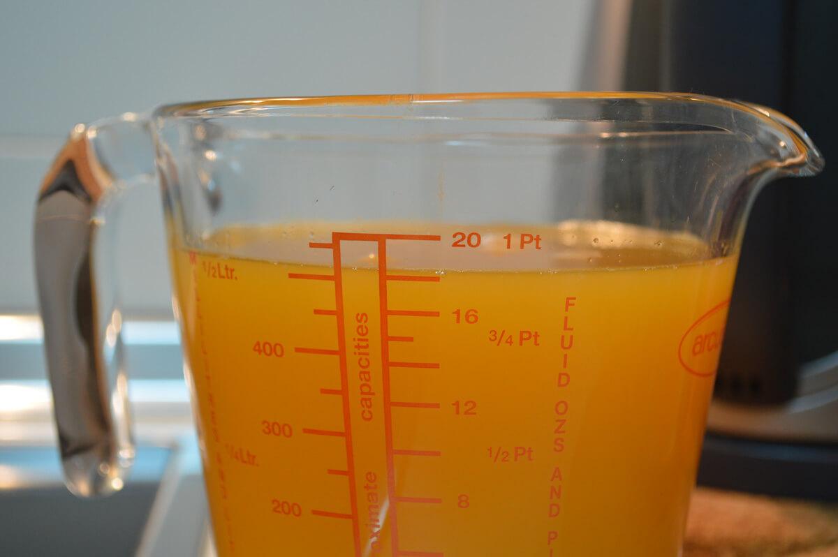 Zumo-para-granizado-de-naranja