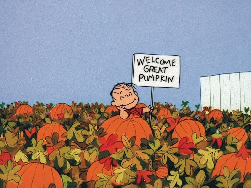 The Great Pumpkin - by Schulz