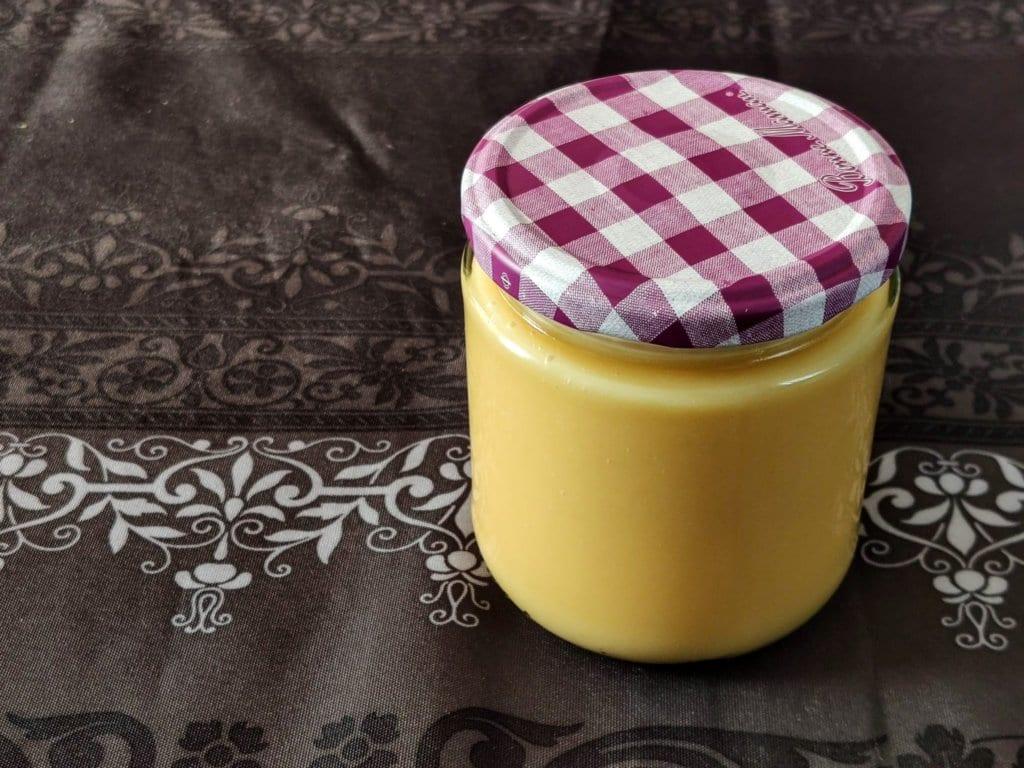 Lemon Curd o crema de limón casera